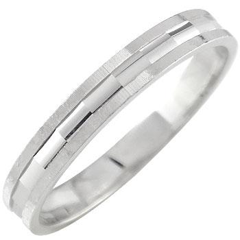 メンズリング プラチナリング 指輪 カットリング メンズリング プラチナリング 指輪 カットリング ダイヤモンドカット ピンキーリングダイヤ ストレート 男性用 送料無料
