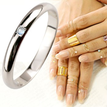 【驚きの値段で】 メンズリング ファランジリング ブルームーンストーン ミディリング 関節リング ホワイトゴールドk18 指輪 ピンキーリング 甲丸 6月誕生石 人気 18金 2.3 宝石 の 送料無料, ヒロタムラ 5e891fdd