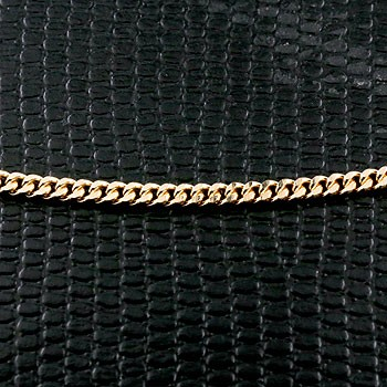 【送料無料】18金 ネックレス ネックレス イエローゴールドk18 喜平 2面 キヘイチェーン レディース 50cm 地金 ファッション 18k お返し