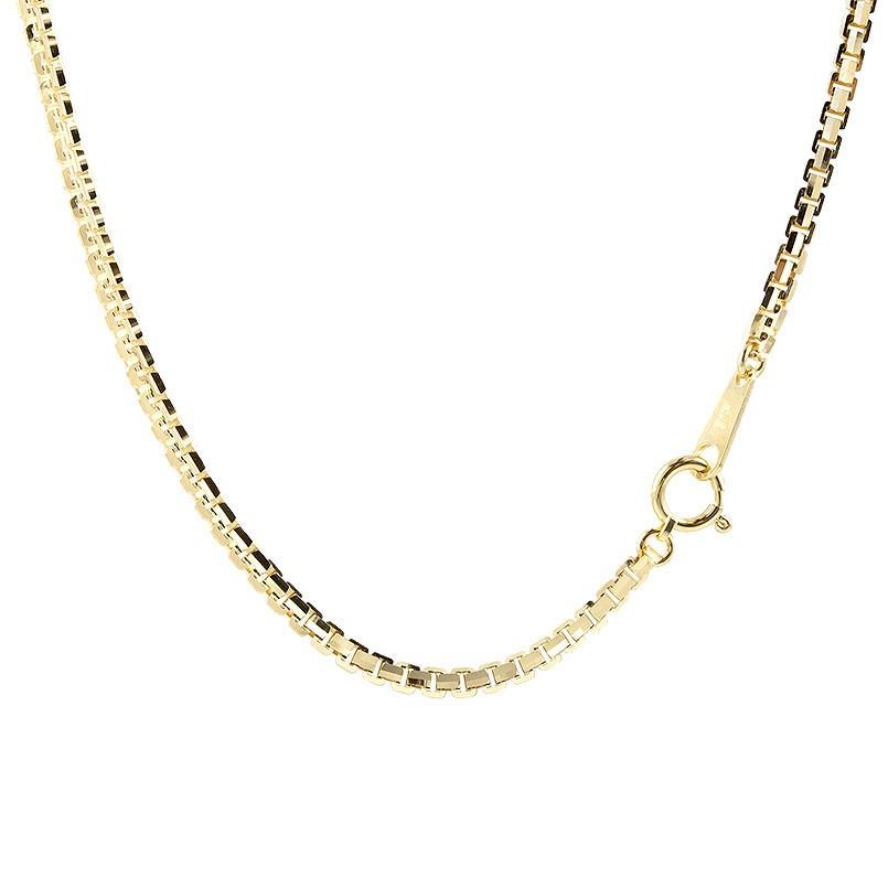 18金ネックレス メンズ 60cm イエローゴールドK18 ベネチアンチェーン 12面カット 地金 ネックレス 18金 18k k18 男性 送料無料