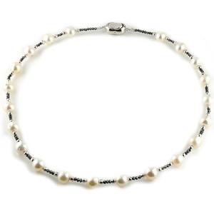 【あす楽】パール 真珠 ネックレス トップ ブラックダイヤモンド ダイヤモンド 40cm あすつく ファッション 妻 嫁 奥さん 女性 彼女 娘 母 祖母 パートナー