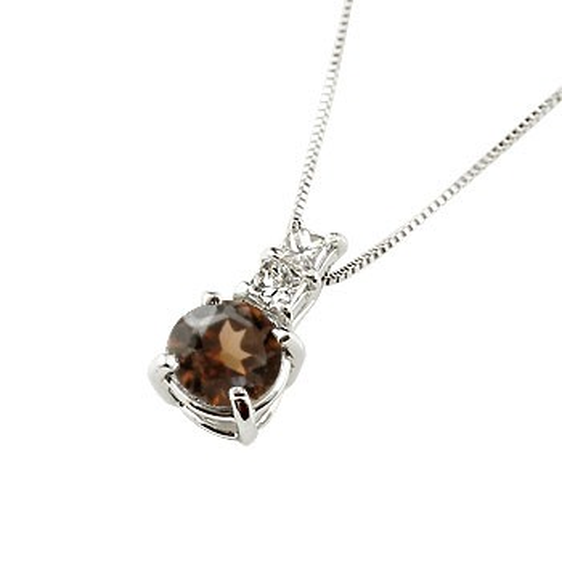 ネックレス ガーネット ペンダント ダイヤモンド ホワイトゴールドk18 シンプル レディース チェーン 人気 k18 18金 1月誕生石 送料無料 母の日