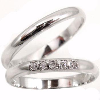 結婚指輪 ペアリング ダイヤ ダイヤモンド プラチナ900 マリッジリング プラチナリング結婚記念リング ハンドメイド 結婚式 ストレート カップル 2.3 贈り物 誕生日プレゼント ギフト ファッション パートナー