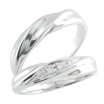 結婚指輪 ハードプラチナ950 ダイヤモンド マリッジリング ペアリング プラチナ pt950 結婚式 ダイヤ ストレート カップル 贈り物 誕生日プレゼント ギフト ファッション パートナー 送料無料