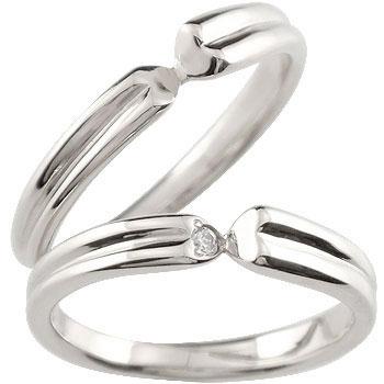結婚指輪 ペアリング ハードプラチナ950 マリッジリング プラチナ ダイヤモンド 一粒ダイヤモンド ハート ダイヤモンドリング pt950 結婚式 ダイヤ ストレート 贈り物 誕生日プレゼント ギフト ファッション パートナー 送料無料