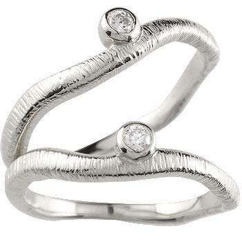 結婚指輪 ペアリング マリッジリング プラチナ ダイヤモンド 一粒ダイヤモンド 結婚式 ダイヤ ストレート カップル 贈り物 誕生日プレゼント ギフト ファッション パートナー 送料無料
