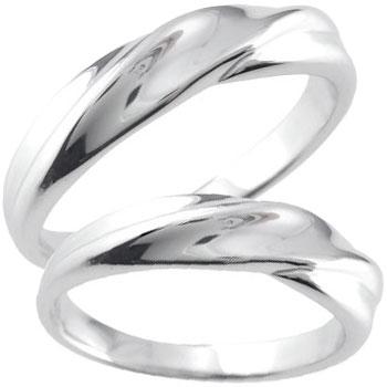 結婚指輪 ペアリング マリッジリング 地金リング 宝石なし シルバー ストレート カップル 贈り物 誕生日プレゼント ギフト ファッション パートナー 送料無料