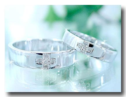 結婚指輪 キュービックジルコニアシルバー925クロスペアリング ストレート カップル 贈り物 誕生日プレゼント ギフト ファッション パートナー