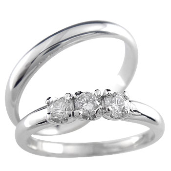 結婚指輪 ペアリング ダイヤモンド プラチナ マリッジリング 結婚式 ダイヤ ストレート カップル 2.3 贈り物 誕生日プレゼント ギフト ファッション パートナー
