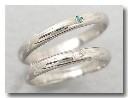 結婚指輪 【送料無料】ペアリング マリッジリング ダイヤモンド ホワイトゴールドk18 結婚式 18金 ダイヤ ストレート カップル 2.3 贈り物 誕生日プレゼント ギフト ファッション パートナー