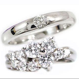 結婚指輪 ペアリング マリッジリング ダイヤモンド プラチナ 結婚式 ダイヤ ストレート カップル 贈り物 誕生日プレゼント ギフト ファッション パートナー