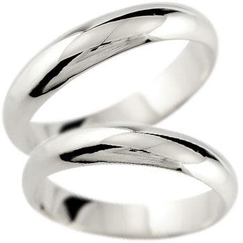 結婚指輪 ペアリング プラチナ マリッジリング 地金リング 宝石なし 甲丸 ストレート カップル 贈り物 誕生日プレゼント ギフト ファッション パートナー 送料無料