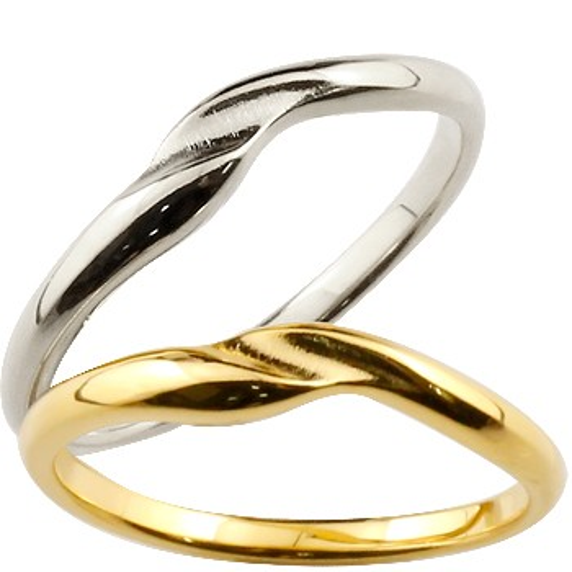結婚指輪 ペアリング マリッジリング 地金リング イエローゴールドk18 ホワイトゴールドk18 シンプル つや消し 18金 結婚式 ストレート スイートペアリィー カップル 贈り物 誕生日プレゼント ギフト ファッション パートナー 送料無料