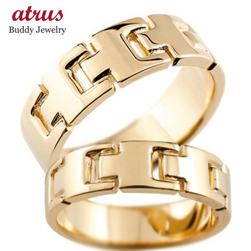 結婚指輪 ペアリング マリッジリング 地金リング ピンクゴールドk18 シンプル 結婚式 18金 宝石なし 人気 ストレート カップル 贈り物 誕生日プレゼント ギフト ファッション パートナー 送料無料