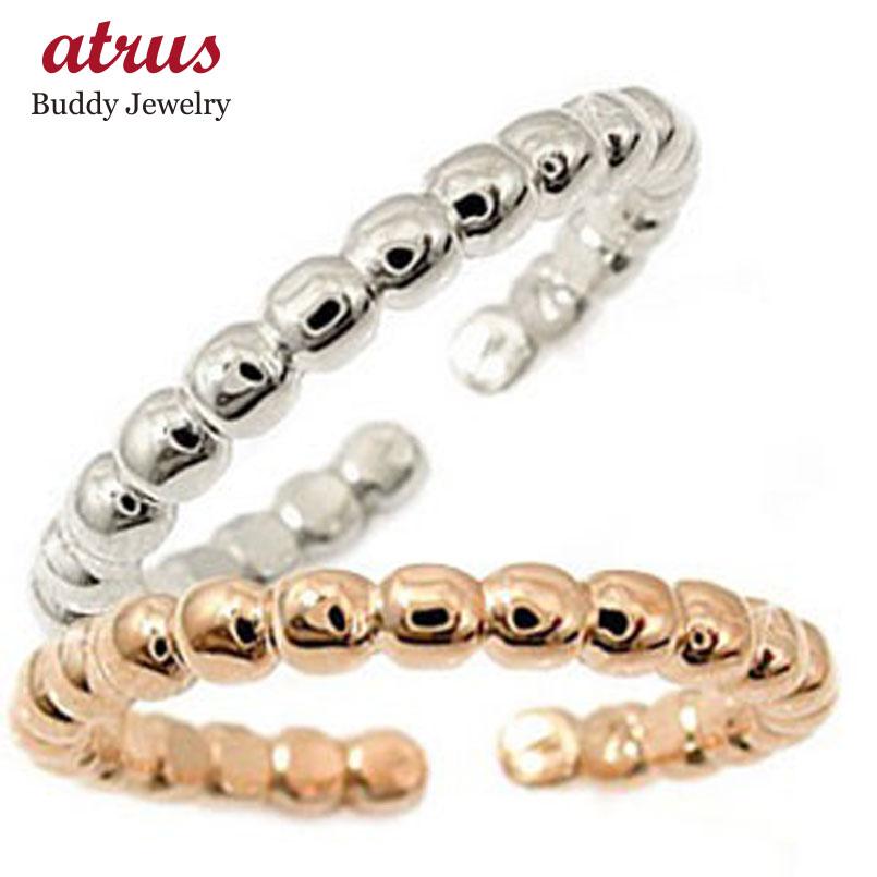 結婚指輪 スイートハグリング ペアリング マリッジリング ホワイトゴールドk18 ピンクゴールドk18 フリーサイズリング 指輪 ハンドメイド 結婚式 18金 カップル 贈り物 誕生日プレゼント ギフト ファッション パートナー 送料無料