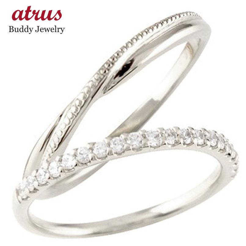 結婚指輪 ペアリング プラチナ マリッジリング ハーフエタニティ ダイヤモンド プラチナリング pt900 極細 華奢 ストレート スイートペアリィー カップル 贈り物 誕生日プレゼント ギフト ファッション パートナー 送料無料