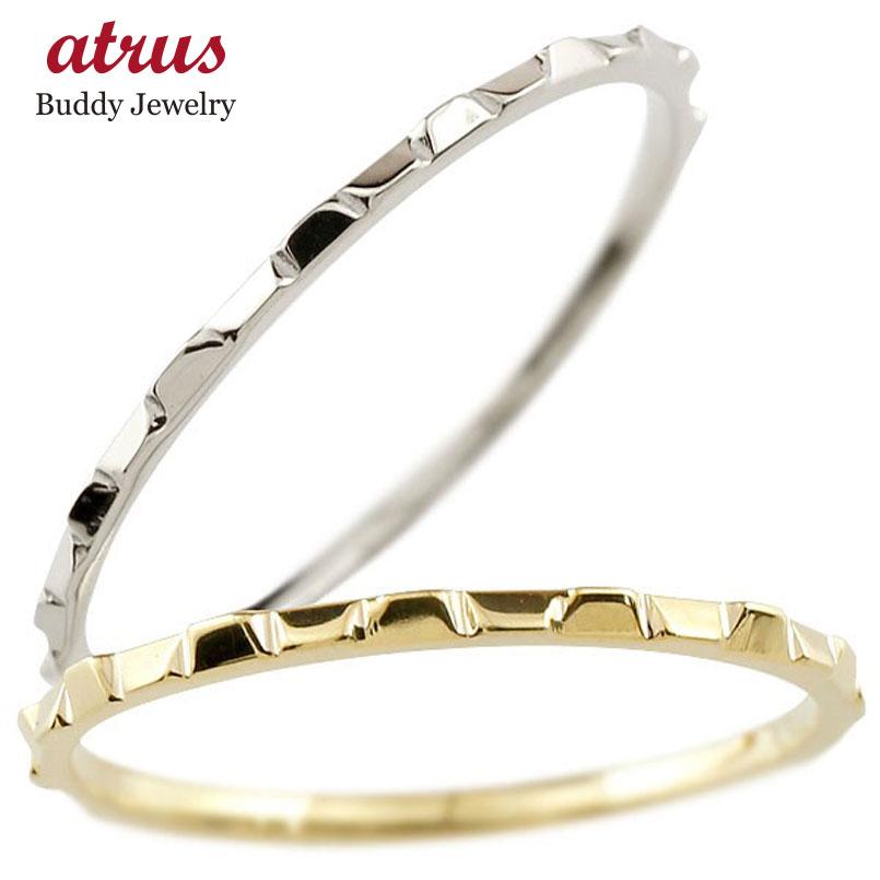 結婚指輪 ペアリング マリッジリング 地金リング イエローゴールドk10 ホワイトゴールドk10 10金 極細 華奢 結婚式 ストレート スイートペアリィー カップル 贈り物 誕生日プレゼント ギフト ファッション パートナー 送料無料