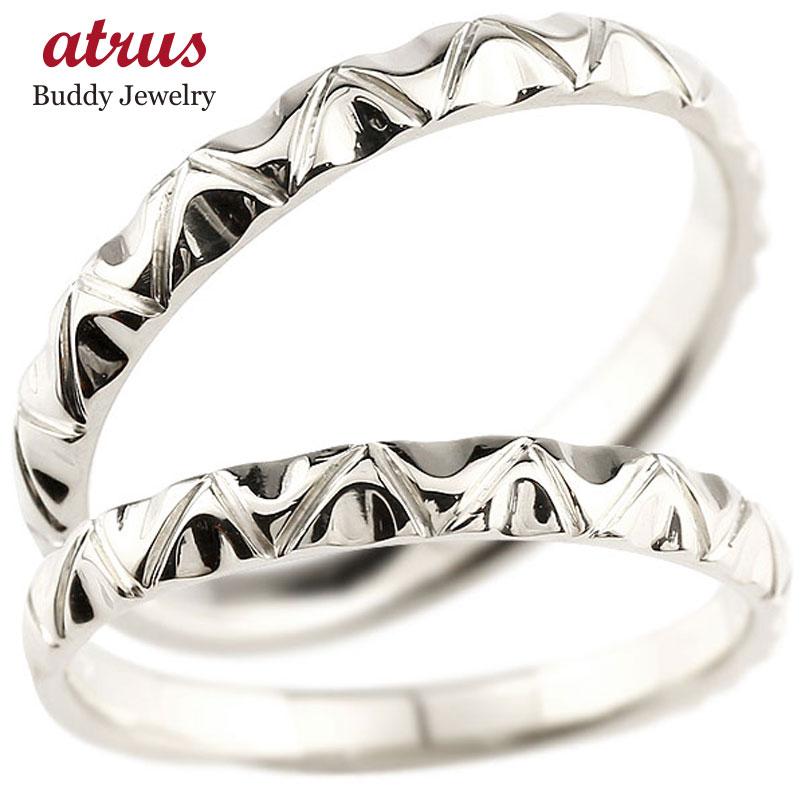結婚指輪 【送料無料】ペアリング マリッジリング シルバー925 sv925 アンティーク 結婚式 ストレート シルバー 地金リング カップル ファッション