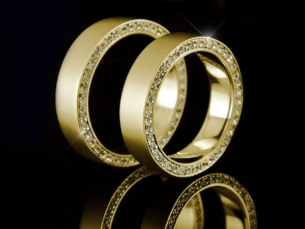 使い勝手の良い ペアリング ダイヤ ダイヤモンド ダイヤ リング 結婚指輪 マリッジリング イエローゴールドk18 フルエタニティリング 指輪 18金 結婚指輪 18金 ストレート カップル 送料無料 の 2個セット, スキー専門店 大阪タナベスポーツ:0199ee1c --- esef.localized.me