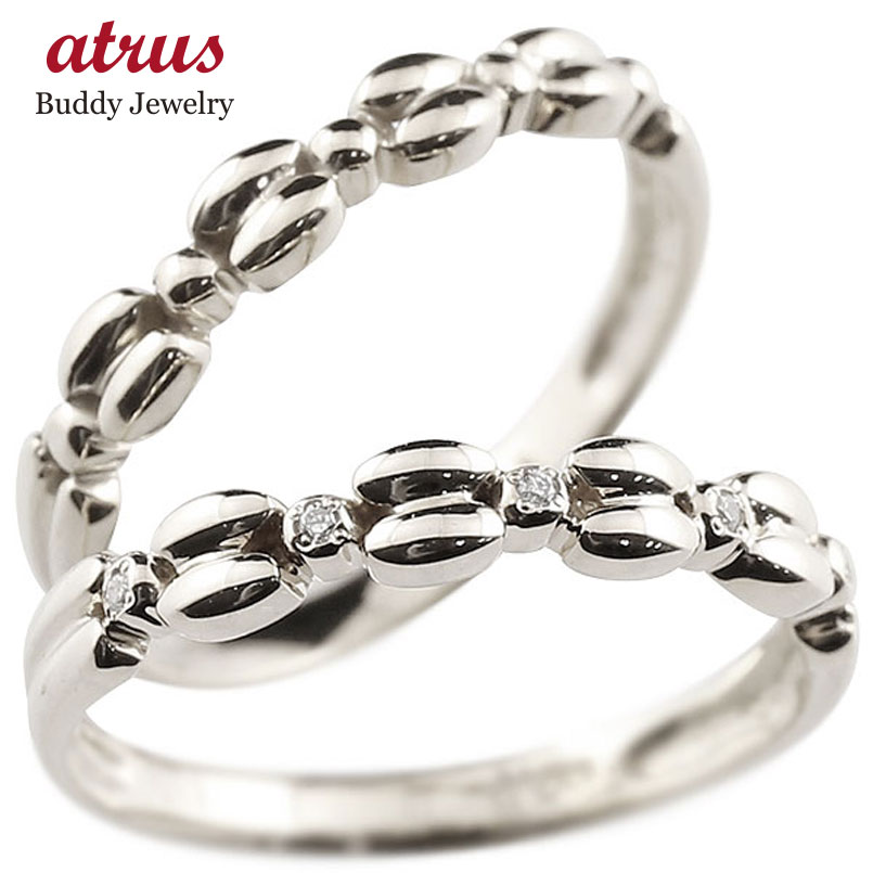 結婚指輪 ペアリング プラチナリング ダイヤモンド シンプル 指輪 華奢リング 重ね付け 指輪 細め 細身 pt900 アンティーク レディース 贈り物 誕生日プレゼント ギフト ファッション お返し パートナー 送料無料