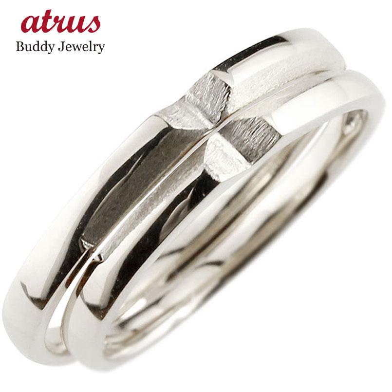 結婚指輪 【送料無料】ペアリング プラチナ マリッジリング クロス 十字架 シンプル つや消し pt900 ストレート スイートペアリィー カップル ファッション パートナー