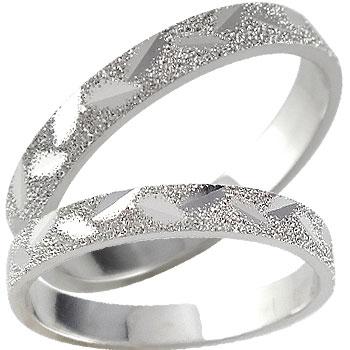 結婚指輪 結婚指輪 プラチナ ペアリング 人気 マリッジリング ダイヤモンドカット ダイヤ ストレート カップル 送料無料