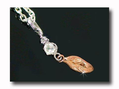 ブルームーンストーンダイヤモンド ペンダントネックレスホワイトゴールドK18ピンクゴールドK18羽 ダイヤ 18金 レディース 宝石 送料無料