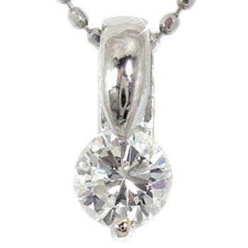 より品質の良いIクラスのダイヤモンドを使用4月の誕生石 プラチナ ネックレス レディース ダイヤモンド 定番 チェーン ダイヤ0.50ct 訳ありセール 格安 人気送料無料 トップ の
