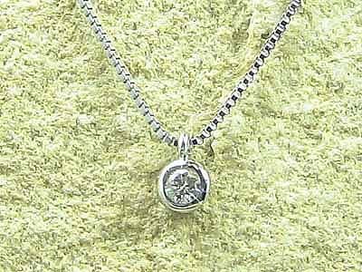 ネックレス ダイヤモンドネックレス ダイヤモンド一粒 ホワイトゴールドk18 一粒 ダイヤ チェーン 人気 18金 ダイヤ 送料無料