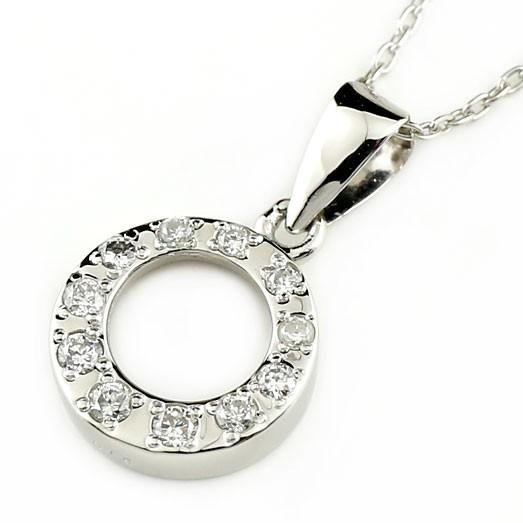 ネックレス ダイヤモンドプラチナネックレスダイヤモンドプラチナアズキプラチナネックレスダイヤモンド 0.15ctチェーン 人気 ダイヤ 送料無料