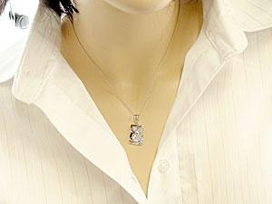 ハワイアンジュエリー ネックレス 一粒 ハワイアンジュエリー ペンダント タンザナイト ホワイトゴールドK18 12誕生石 チェpMVLSzGqU