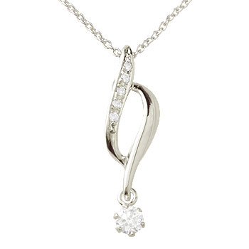 ダイヤモンド ネックレス トップ プラチナ ネックレス トップ ペンダント チェーン 人気 ダイヤ レディース プレゼント 女性 送料無料