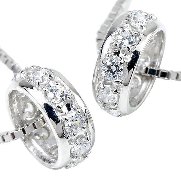 プラチナ ネックレス トップ ペア pt900 リング シンプル ダイヤモンド ペアネックレス トップ ペンダント エタニティ ダイヤ プレゼント 男性 女性 送料無料
