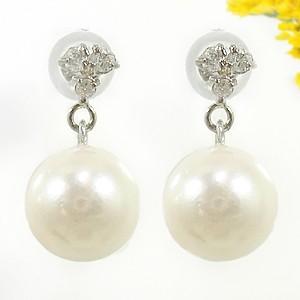 プラチナ ピアス ダイヤ パールピアス アコヤ本真珠8ミリ ダイヤモンド プラチナピアス スタッドピアス 天然石 ダイヤ 贈り物 誕生日プレゼント ギフト ファッション
