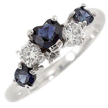 【送料無料】 ハート プラチナリング アイオライト 指輪 ダイヤモンド ピンキーリング ダイヤ ファッションリング 贈り物 誕生日プレゼント ギフト ファッション 妻 嫁 奥さん 女性 彼女 娘 母 祖母 パートナー