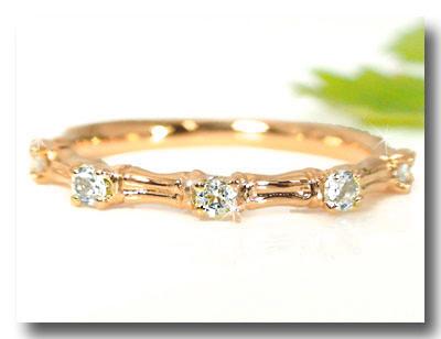 【送料無料】 ピンキーリングダイヤモンドリングピンクゴールドk18指輪ダイヤモンド k18重ね付け 18金 ダイヤ 4月誕生石 ストレート ファッションリング 贈り物 誕生日プレゼント ギフト ファッション 18k 妻 嫁 奥さん 女性 彼女 娘 母 祖母 パートナー