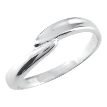 ピンキーリング ホワイトゴールドk10リング ホワイトゴールドk10指輪k10 10金 ストレート 送料無料