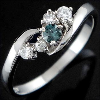 ピンキーリング アレキサンドライト ダイヤモンドリング ホワイトゴールドk18 6月誕生石 18金 ダイヤ ストレート 指輪 宝石 送料無料