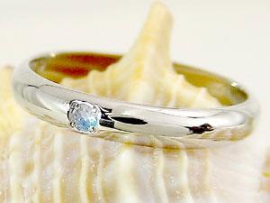 ピンキーリング ブルームーンストーン プラチナ 指輪 刻印 6月誕生石 ばぁばリング お誕生日 敬老の日 長寿のお祝い ストレート 2.3 送料無料