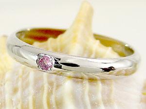 ピンキーリング ピンクトルマリン プラチナ 指輪 刻印 10月誕生石 ばぁばリング お誕生日 敬老の日 長寿のお祝い ストレート 2.3 送料無料