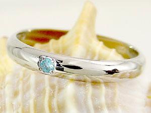 ピンキーリング ブルートパーズ プラチナ 指輪 刻印 11月誕生石 ばぁばリング お誕生日 敬老の日 長寿のお祝い ストレート 2.3 送料無料