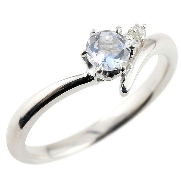ブルームーンストーン プラチナリング ダイヤモンド 指輪 ピンキーリング 一粒 大粒 pt900 レディース 6月誕生石 宝石 送料無料