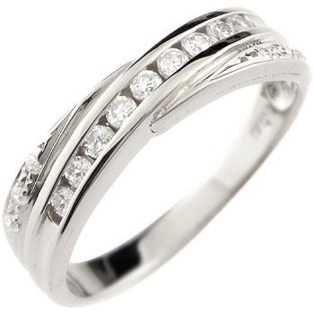 キュービックジルコニア シルバーリング 指輪 ストレート 送料無料