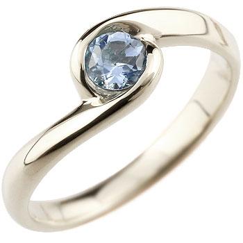 タンザナイト リング 指輪 スパイラルリング ピンキーリング シルバー 一粒 大粒 シンプル レディース 12月誕生石 ストレート 宝石 送料無料