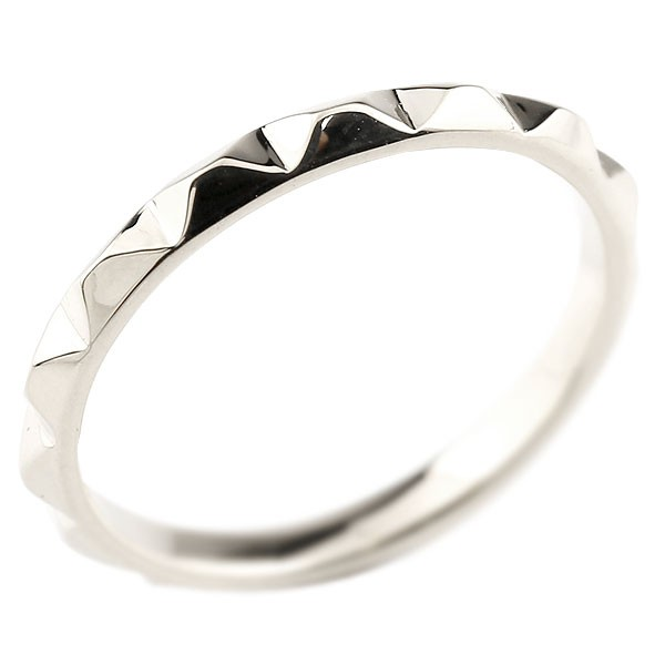 ピンキーリング プラチナ 指輪 レディース 地金リング 送料無料