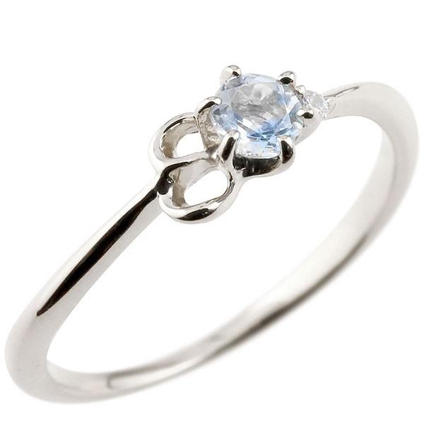 イニシャル ネーム E ピンキーリング ブルームーンストーン ダイヤモンド 華奢リング ホワイトゴールドk10 指輪 アルファベット 10金 レディース 6月誕生石
