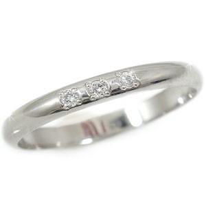 ピンキーリング 指輪 ホワイトゴールドk10リング ダイヤモンド リング ダイヤモンド 指輪 ダイヤモンド ダイヤ 10金 ストレート 2.3 宝石 送料無料