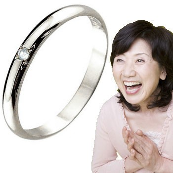 ピンキーリング アクアマリン プラチナ 指輪 刻印 3月誕生石 ばぁばリング お誕生日 敬老の日 長寿のお祝い ストレート 2.3 送料無料