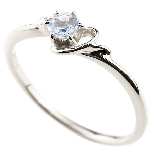 イニシャル ネーム Y ピンキーリング ブルームーンストーン ダイヤモンド 華奢リング ホワイトゴールドk10 指輪 アルファベット 10金 レディース 6月誕生石