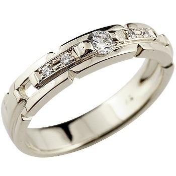 ピンキーリング ダイヤモンド リング プラチナリング 指輪 ダイヤモンド ダイヤモンドリング ダイヤ ストレート 送料無料